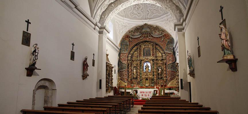 Interior de la Iglesia de Nuestra Señora de la Asunción, en Remondo.