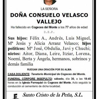 Consuelo Velasco Vallejo