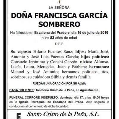 Francisca García Sombrero