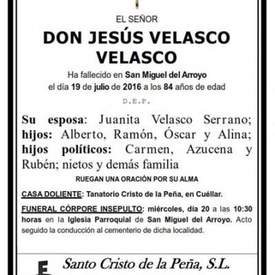 Jesús Velasco Velasco