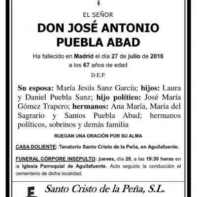 José Antonio Puebla Abad