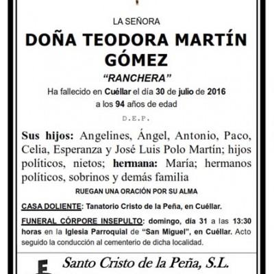 Teodora Martín Gómez
