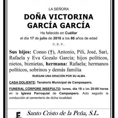 Victorina García García