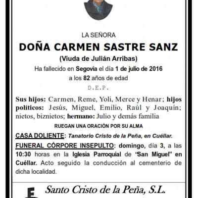 Carmen Sastre Sanz