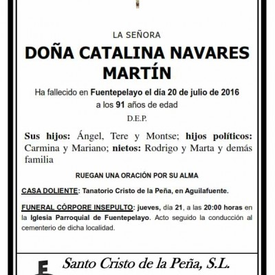 Catalina Navares Martín