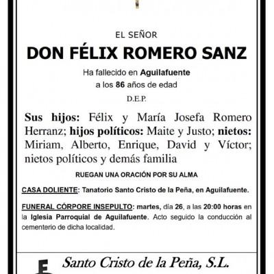 Félix Romero Sanz