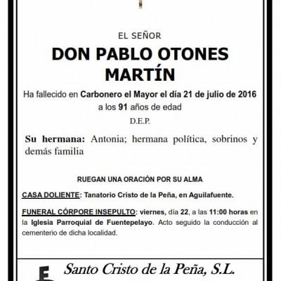 Pablo Otones Martín