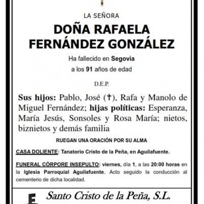 Rafaela Fernández González