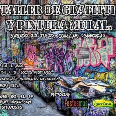 Taller de pintura mural y grafiti organizado por Gente Festeamus