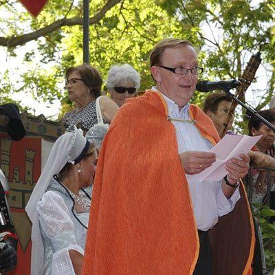 Cuéllar emprende un viaje a la Edad Media con su fiesta `Cuéllar Mudéjar´