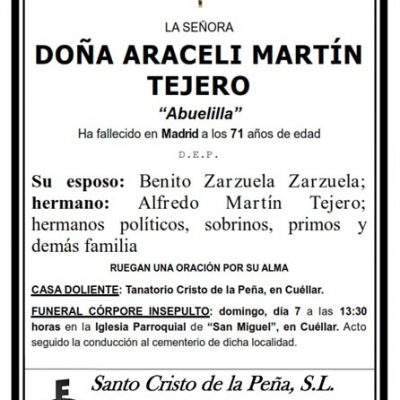 Araceli Martín Tejero