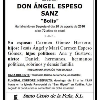 Ángel Espeso Sanz