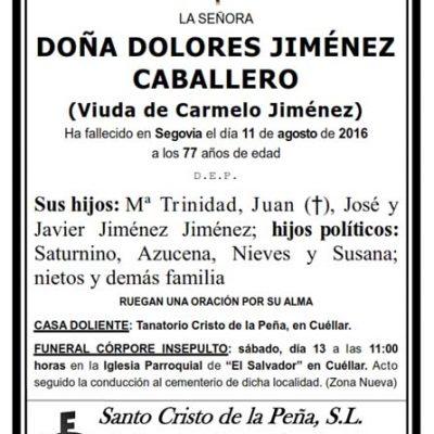 Dolores Jiménez Caballero