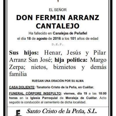 Fermín Arranz Cantalejo