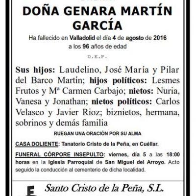 Genara Martín García