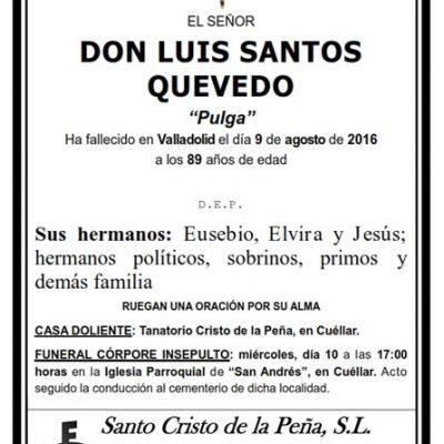 Luis Santos Quevedo