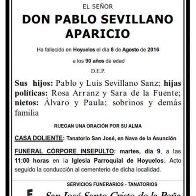 Pablo Sevillano Aparicio