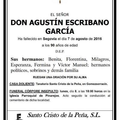 Agustín Escribano García