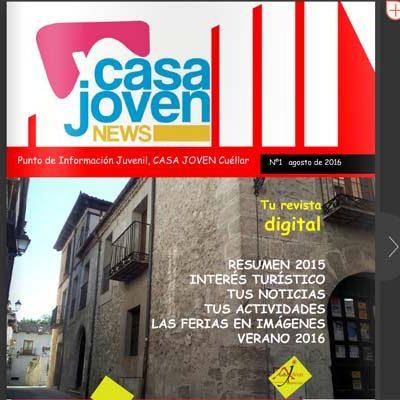 La Casa Joven lanza el primer número de su revista `Casa Joven News´