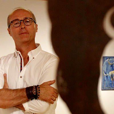 Los toros y Cuéllar protagonizan la exposición de Alfonso Rey en Las Tenerías