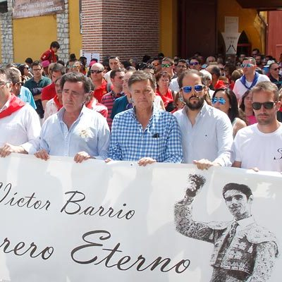 Víctor Barrio, torero eterno