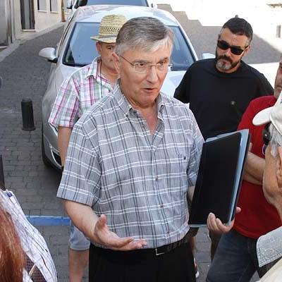 """Ordoñez defiende ante el juez que la plataforma actúa """"en defensa de la salud de las personas de Fuentepelayo y su entorno"""""""