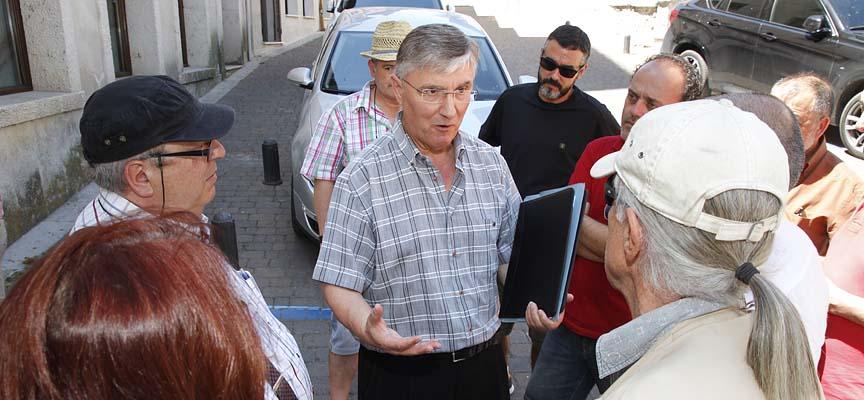José Luis Ordoñez tras su comparecencia.
