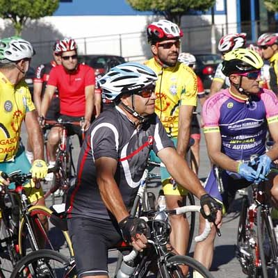 Medio centenar de corredores se dieron cita en la XV Marcha Pipe Gómez