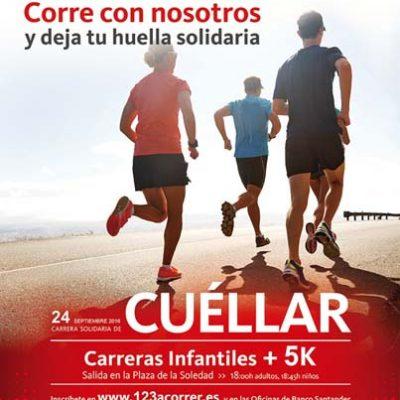 `1,2,3 a correr´ cita con el deporte el 24 de septiembre a beneficio de Cruz Roja en Cuéllar