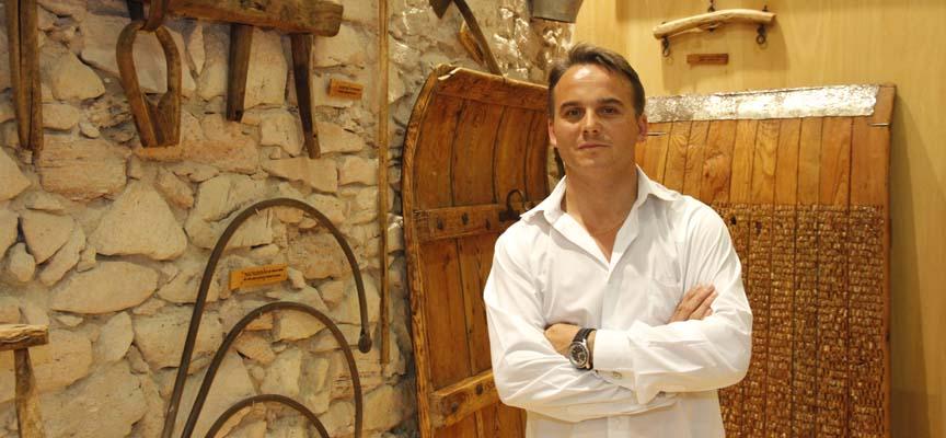 Máximo San Macario, alcalde de Cantalejo.