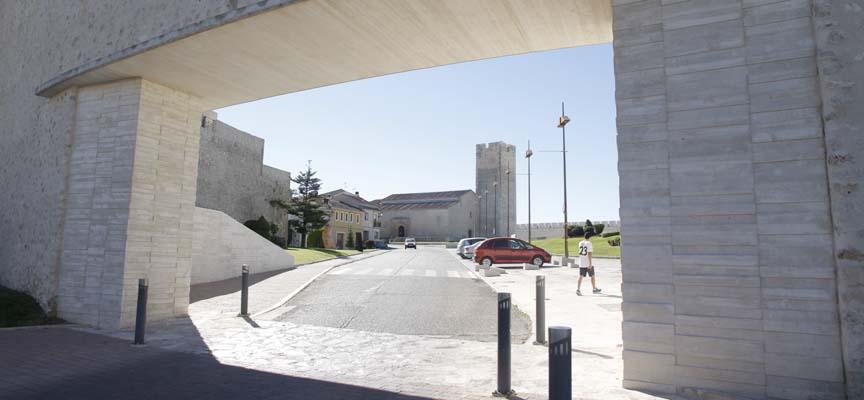 La 3ª y 4ª fase afecta al tramo comprendido entre el Castillo y la iglesia de San Martín.