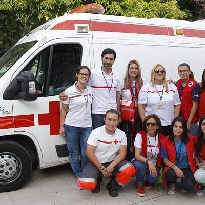 Cruz Roja Segovia celebró una jornada de convivencia en la villa