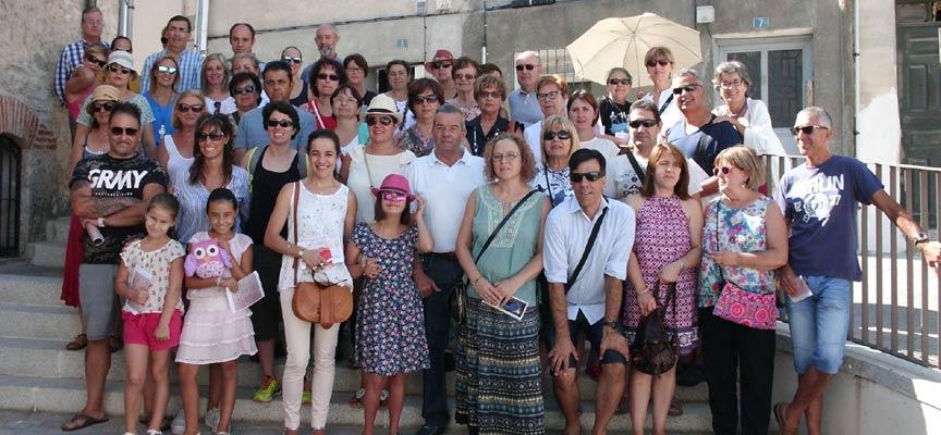 Participantes en la visita por La Judería.