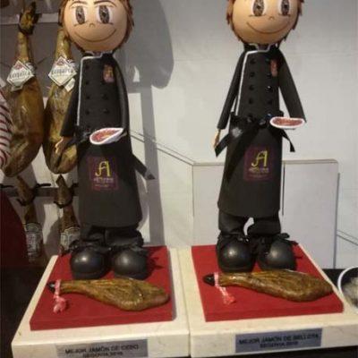 La empresa Monte Nevado recibió dos premios en la Feria de Jamón de Castilla y León