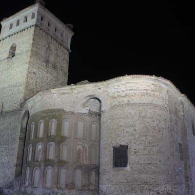 Aguilafuente renueva la iluminación de sus iglesias
