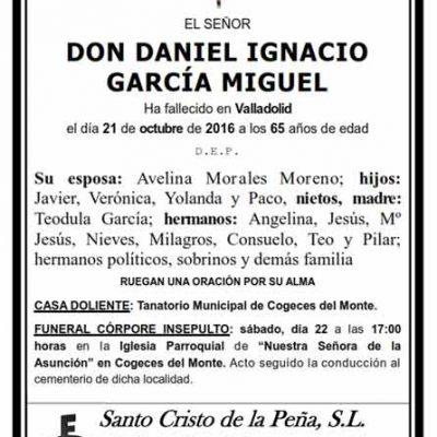 Daniel Ignacio García Miguel