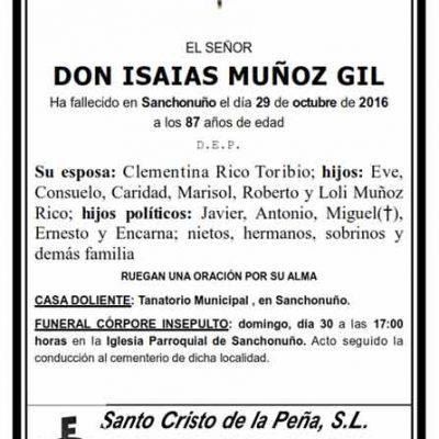 Isaías Muñoz Gil