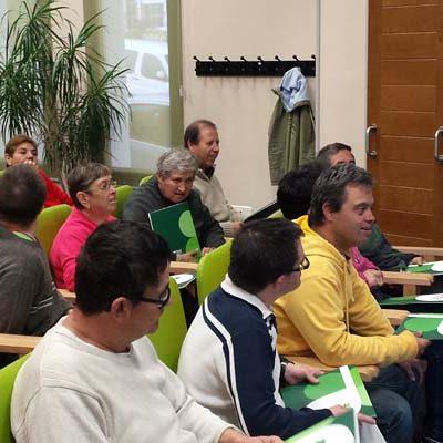 Fundación Personas imparte un taller de envejecimiento saludable en Cuéllar
