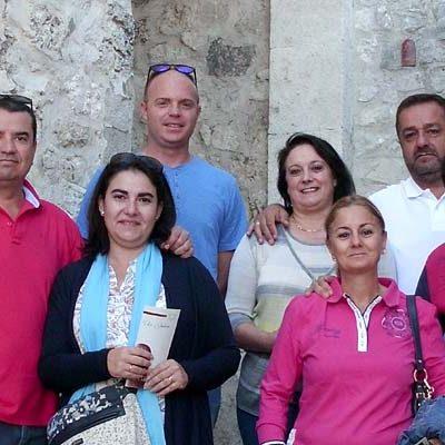 Miembros de la Guardia Civil visitaron la Judería cuellarana