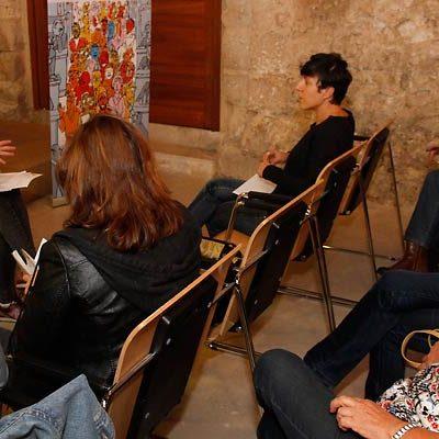 Natalia del Barrio expuso en la villa las iniciativas que Podemos ha elevado a la Junta en beneficio de la mujer rural