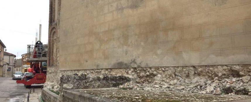Comienzan los trabajos de restauración en la iglesia de San Martín