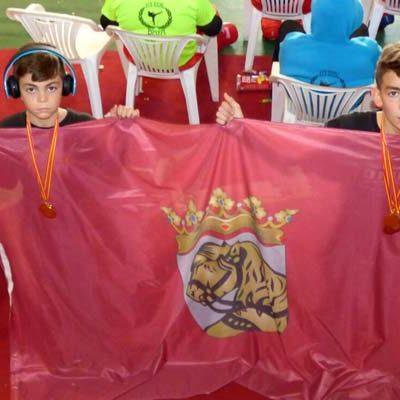 Alain y Hugo González logran cinco medallas en la Copa de España de Clubes de Kick Boxing
