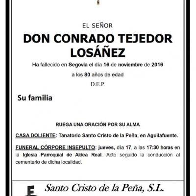 Conrado Tejedor Losañez