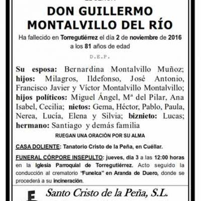Guillermo Montalvillo del Río