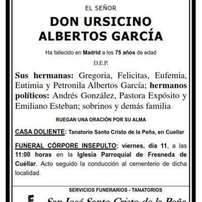 Ursicino Albertos García
