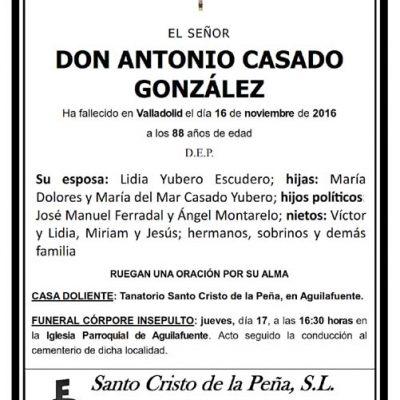 Antonio Casado González