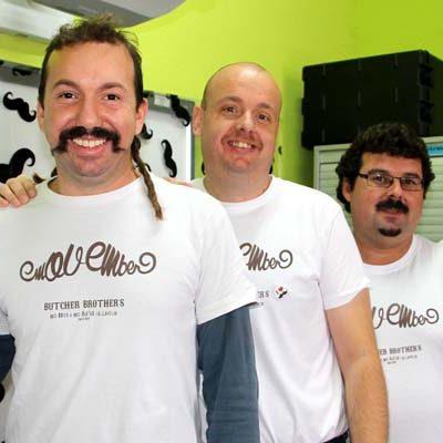 """El colegio San Gil cierra hoy un mes """"bigotudo"""" en pro de la salud masculina"""