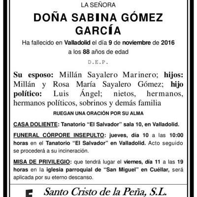 Sabina Gómez García