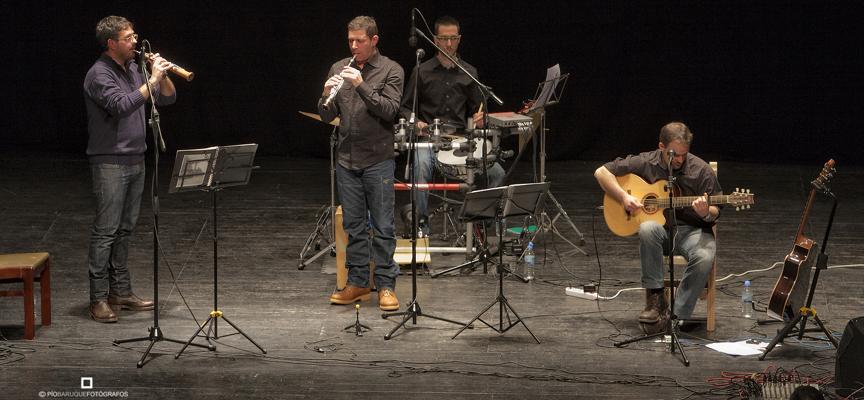 Tierra Antigua durante un concierto en Olmedo.