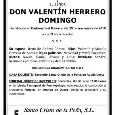 Valentín Herrero Domingo